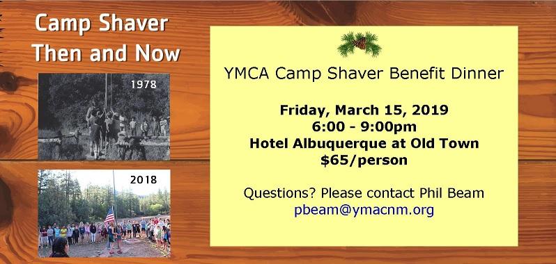 Camp Shaver Benefit Dinner
