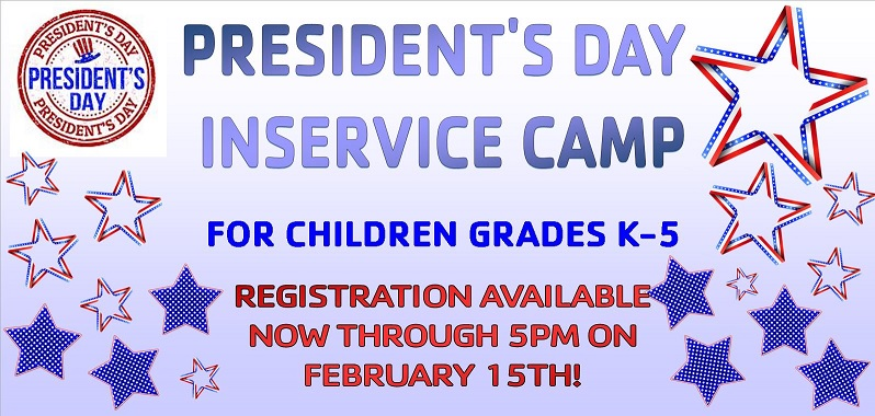 In-Service & School Holiday Camps
